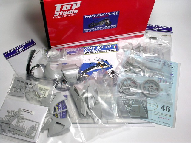 MD29007 2008 YZR M1 Super Detail Set (Catalyuna)